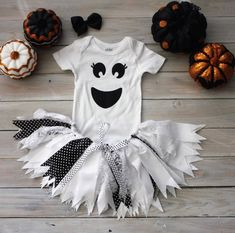 Halloween Ghost Tutu Dress, Halloween Ghost Tutu-Baby Costume-Toddler Costume, Little Ghost Guaranteed Delivery before Halloween! If you need it rushed, please add the Rush Fee listing to your order! If you need it sooner before Diy Girls Costumes, Ghost Halloween Costume, Toddler Costumes, Tutu Costumes, Costume Ideas, Halloween 2016, Scarecrow Costume, Witch Costumes, Devil Costume