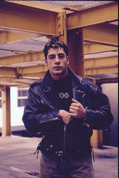 Young Javier Bardem