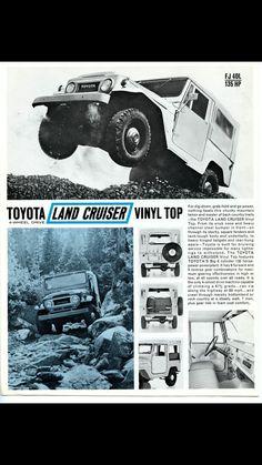 Toyota Land Cruiser FJ40 Advertisement