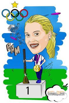 Caricatura Jessica Rossi