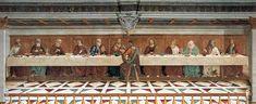 Domenico Ghirlandaio: Ultima Cena 1476 in Tavernelle Val di Pesa/Fi abazia di san Michele archangelo