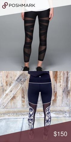 ISO!!!! Help!!! I know it's probably useless, but if anyone out there has these and is willing to sell for the $125 price range please let me know! lululemon athletica Pants Leggings