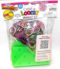 Creat-a-Loomz Bracelet Kit Assorted-Choices may vary * Check this awesome product by going to the link at the image.(It is Amazon affiliate link) #likecommentfollow