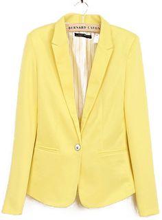 Yellow Blazer.