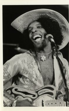 detroitlib: Happy Birthday Sly Stone! (born Sylvester Stewart, March 15, 1943) American musician, songwriter, and record producer, most famous for his role as frontman for Sly and the Family Stone, a band which played a critical role in the development of soul, funk, rock, and psychedelia in the 1960s and '70s. In 1993, he was inducted into the Rock and Roll Hall of Fame as a member of the group. (Wikipedia) Portrait of Sly Stone, member of the musical group Sly and the Family Stone. Han...