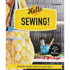 "Simple makes that are just sew"" by Lena Santana available from Rakuten Kobo. Lena Santana has devised a collection of simple, beautifully made sewing projects that serve as a perfect introduction t. Book Crafts, Paper Crafts, Craft Books, Easy Projects, Sewing Projects, Finding A New Hobby, Gift Finder, Pink Zebra, Book Show"
