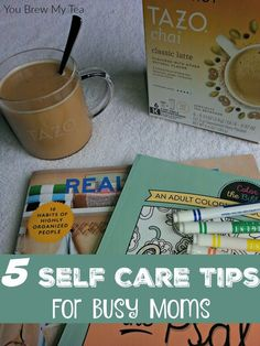 Amazing self care tips for busy moms are just what you need when you feel totally frustrated with life!  Don't miss our 5 best tips for self-care!  One of those ways is to enjoy the occasional TAZO® Chai Latte.#SweetMeetsSpicy, #ChaiLatte, #KCup, #IC #AD