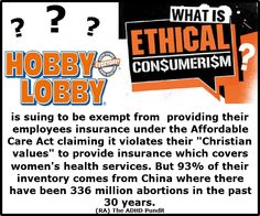 Hypocrites!  Hobby Lobby can shove it right up their asses.