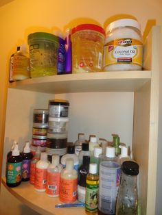 Hah! Very similar to my own natural haircare repertoire...