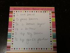 Smaller recipe arkansas green beans