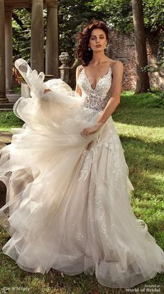 Eve of Milady 2018 A-line bridal gown