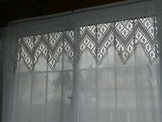 crochet, manualidades , decoraciones para el hogar, cortinas #crochet #craft #handmade #knit #Embroidery