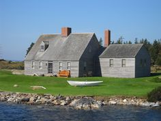 Betsy Wyeth's home on Allen Island, St George, Maine