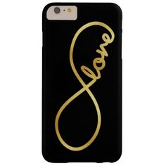 Forever Love - Infinity Love Symbol Barely There iPhone 6 Plus Case