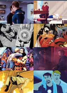 Stony Steve and Tony will always have a complex relationship. And I hope they will always find a way to be friends.