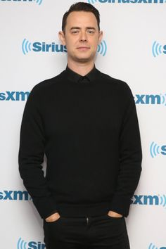 Pin for Later: Everyone Who's Anyone Is an Emmys Presenter This Year Colin Hanks Colin Hanks, Hollyoaks, Coronation Street, Rich Man, Big Bang Theory, Actors & Actresses, Men Sweater, Handsome, Celebrity