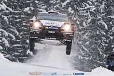 Mads Østberg | Ford Fiesta RS WRC | 2013 Rally Sweden (by bestofrallylive)
