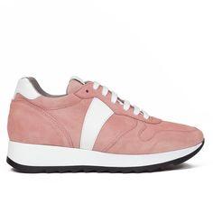 cdb4fb540c1 Zapatilla Deportivo mujer Rosa MEMORY FOAM Piel - Zapatos miMaO – miMaO  ShopOnline Zapatos Deportivos Mujer