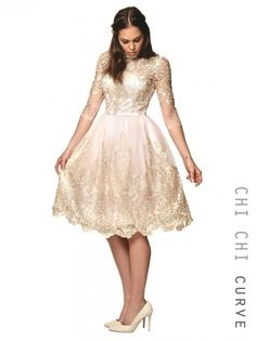 This is just stunning and I am seriously tempted by this dress for the wedding!