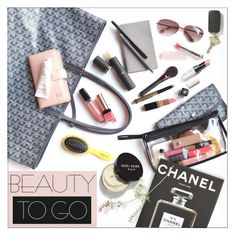 """""""Beauty To Go ♡♡"""" by preciouspearll ❤ liked on Polyvore featuring beauty, Assouline Publishing, Kate Spade, Bobbi Brown Cosmetics and travelbeauty"""