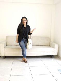 Look do Dia para inspirar sua SEMANA DE TRABALHO. -------- <3 VEJA AQUI: http://www.vestidoetenis.com/2015/06/o-look-da-pry-para-o-ambiente-de.html