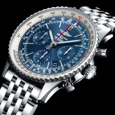 "Brietling Navitimer.  The definitive ""aviator"" watch that practically everyone else is mimicking.  You can get a quartz knock-off from Seiko for ~$200, but the original automatic Navitimer will set you back; not disappoint.  The Watch Quote: Photo - Breitling Navitimer Blue Sky Limited Edition 60th anniversary"