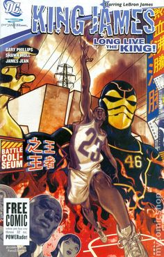 King James Long Live The King (2005) 1A lebron cavaliers cleveland comic book cover
