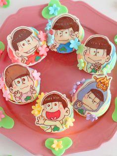 おそ松さんカップケーキ- melikey