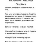 I have created this folder game to give students an opportunity to practice and increase their use of abbreviations. This lessons has been created ...