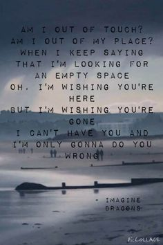 "Lyrics from ""shots"" by imagine dragons photo found on google images"