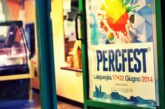 Locandina #PercFest14 #jazz #percussioni