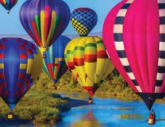Lose yourself in the majesty of this puzzle bursting with vivid colors. The repetition of the balloons will both entice and perplex you as you work to bring harmony to the image. Springbok Take Flight Jigsaw Puzzle The Balloon, Hot Air Balloon, Balloon Rides, Giant Steps, Mothers Day Crafts For Kids, Kids Crafts, Puzzle 1000, Puzzle Pieces, Vivid Colors