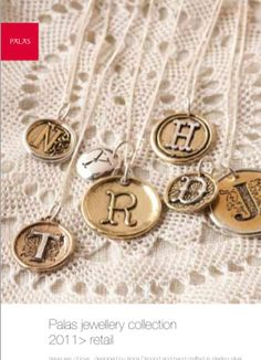 New Letter Pendants by Palas Jewellry