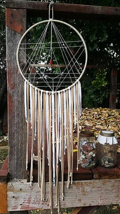 Geometry Dream Catcher by Aurvgon on Etsy                                                                                                                                                                                 More