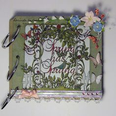 Springing Spring? By Dorinda Kaduchak. For more details check out: http://southernchipboard.blogspot.ca/2015/07/springing-spring.html. To order this amazing chipboard, check out: www.chipboard.ca