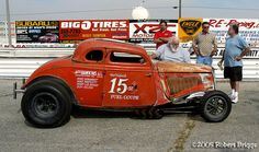 photos of hyder & mccloud 34 ford drag car Classic Hot Rod, Classic Cars, Custom Muscle Cars, Old Race Cars, Vintage Race Car, Drag Cars, Drag Racing, Fast Cars, Hot Rods