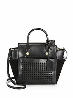 94456442ccb8 Reed Krakoff - Mini Atlantique Bionic Leather   Suede Tote