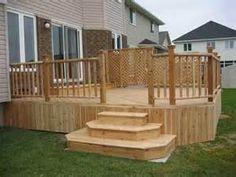 Deck Stairs Design Ideas Wooden 300x225 Deck Stairs Design Ideas ...