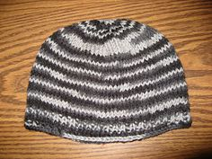 Ravelry: Basic Knooked Hat pattern (this one is free!)