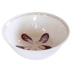 Buy Jersey Pottery Fruits de Mer Mussels Salad Bowl Online at johnlewis.com
