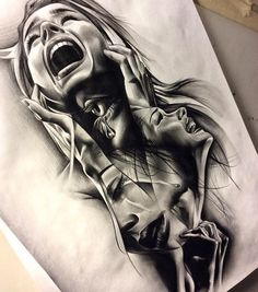 drawing works by David Reveles1