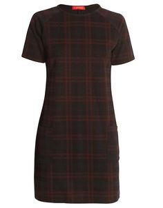 Short Sleeve Navy Blue Checked Dress with Pocket Detail £ 16.95 http://www.chiarafashion.co.uk/short-sleeve-navy-blue-checked-dress-with-pocket-detail.html #short #sleeve #navy #blue #mini #dress #check #grid #checked #tartan #print #pocketed