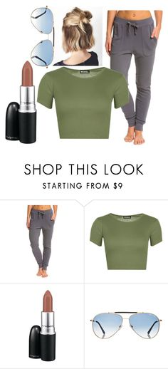 """""""Untitled #414"""" by niallerzprincess0529 ❤ liked on Polyvore featuring Under the Canopy, WearAll, MAC Cosmetics and Tom Ford"""