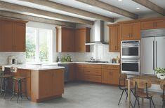 Diy Kitchen Cabinets, Kitchen Cabinet Organization, Kitchen Cabinets In Bathroom, Rta Cabinets, Modern Office Design, Office Interior Design, Lily Ann Cabinets, 3d Kitchen Design, Kitchen Photos