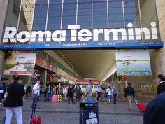 Rome: termini station entrance