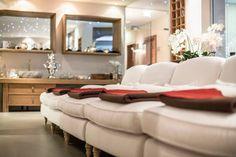 Hotel Review Unterschwarzachhof: 4*s in Saalbach Hinterglemm Das Hotel, Wellness Spa, Salzburg, Hotel Reviews, Best Hotels, Lounge, Couch, Austria, Furniture