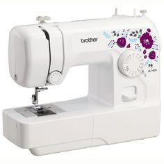 $70 CASHBACK. Offer commences 1 Dec - 4 Jan 2017. Redeem by 18 January 2017.  This machine has 14 stitches, including a simple four-step buttonhole.   The bobbin winder is easy to use, and bobbins are top loading – no fiddling around with a bobbin case.   The JA1400 is ideal if you're learning to sew. Watch the DVD for help with basic sewing techniques and a couple of projects to get you started.   You can use the JA1400 as a traditional flatbed machine, or convert it ...