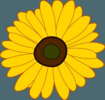 I recently read a really fun book that inspired an activity I am surely going to complete with my own kids. Sunflower House by Eve Bunting is a story of children planting sunflowers in a circle to . Free Flower Clipart, Sunflower Clipart, Picture Story For Kids, Sunflower House, Planting Sunflowers, Learning English For Kids, Moon Crafts, Canada Images, Pictures Images
