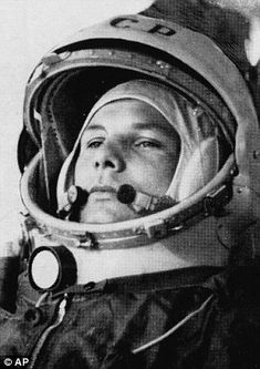 Yuri Gagarin made history in 1961 when, aged just 27, he became the first man to journey into space.  His single Earth orbit on April 12 lasted 108 minutes and was one of the Soviet Union's most enduring Cold War victories.
