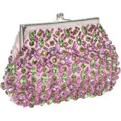 Moyna Handbags Evening Swarovski Crystals Purse